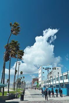promenada- Venice Beach, California