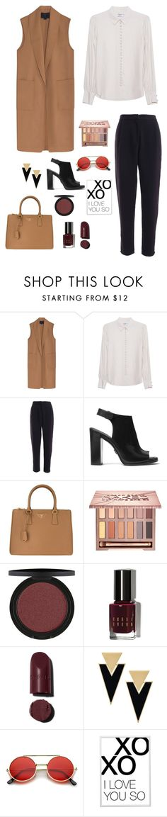 """Untitled #31"" by nandawelly on Polyvore featuring Alexander Wang, Frame Denim, Michael Kors, Prada, Urban Decay, Bobbi Brown Cosmetics, Yves Saint Laurent and xO Design"