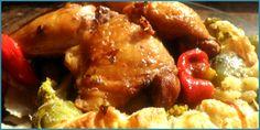 Receta de pollo en nido de hojaldre