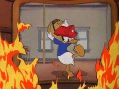 Pato Donald -  Jefe de bomberos.