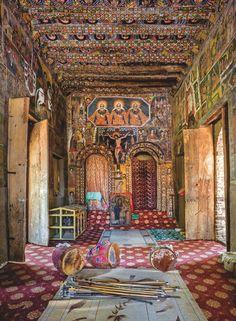 Inside Debre Berhan