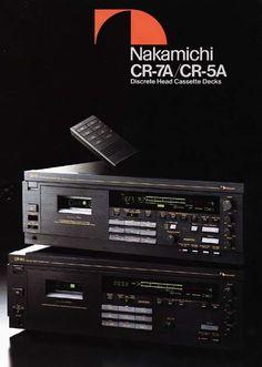 Nakamichi CR-7A Cassette Deck