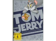 Feiern Sie das hartnäckigste Gespann der Zeichentrickgeschichte mit einer Kollektion, hinter der alle Fans her sein werden! Als Hauptdarsteller ihrer eigenen Kinokurzfilme, Filme und Fernsehserien machen Tom und Jerry die Jagd nach der Jagd zu einem ewigen Vergnügen. Diese Kollektion aus 30 Kurzfilmen auf 2 Discs umfasst viele Meilensteine (einschließlich sieben mit dem Oscar® ausgezeichneter Episoden), in denen sie in den Händen großartiger Regisseure (William Hanna und Joseph Barbera… Tom Und Jerry, William Hanna, Toms, Animation, Oscar, Warner Bros, Cover, Products, Movie