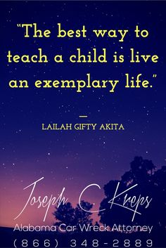 """#Loxley #Alabama #Car #Wreck #Lawyer - We are here now to help you with your Loxley Car Wreck Case. Call Today.  """"The best way to teach a child is live an exemplary life."""" ― Lailah Gifty Akita  https://www.krepslawfirm.com/blog/loxley-alabama-car-wreck-lawyer-2/- #KLF"""