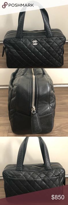 Jamel Bag Year 2002, clean inside out, small scuff on the side, all logo in silver colour. CHANEL Bags Shoulder Bags