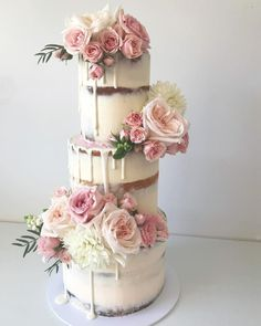 100 Pretty Wedding Cakes To Inspire You - Fabmood | Wedding Colors, Wedding Themes, Wedding color palettes #weddingcakes