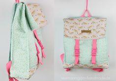 Mein Sommer-Rucksack • Tutorial & Schnitt | Seemannsgarn • handmade