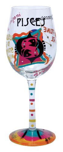 Use these fun astrology wine glasses for special occasions and watch conversations happen as people hold their drink with their sign's traits on them!
