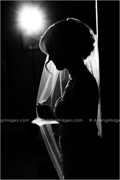 """Gorgeous Bridal Portrait. Would be a good """"sneak peak"""" to give the morning of the wedding."""