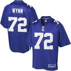NFL Pro Line Mens New York Giants Kerry Wynn Team Color Jersey c49e9aad0