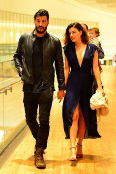 Isis Valverde e o namorado, Uriel Del Toro, em shopping na Zona Oeste do Rio (Foto: William Oda/ Ag. News)