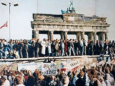 The fall of the Berlin Wall in 1989 marked the beginning of German reunification.