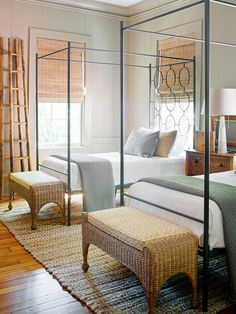 Cute guest rooms