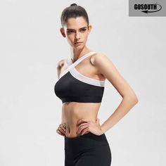 28443bb53d New Women Sexy Sports Bras Quick Dry Gym Criss Cross Mesh Patchwork Top  Training Running Fitness