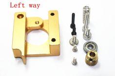 3D Printer MK8 extruder aluminum block DIY kit Makerbot single nozzle extrusion aluminum block Three style for selection I122