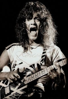 Giddy up rodeo! Alex Van Halen, Eddie Van Halen, Rock Roll, Famous Guitars, David Lee Roth, Greatest Rock Bands, Good Music, 80s Music, Amazing Music