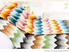 A very good example of a baby blanket. An example you'll love very much. Now evaluating the ropesk is a Modern Crochet Patterns, Crochet Patterns For Beginners, Crochet Blanket Patterns, Baby Blanket Crochet, Crochet Baby, Crochet Gratis, Free Crochet, Knitted Baby Blankets, Make Color