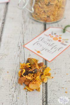 Homemade Gifts: Paleo Pumpkin Granola