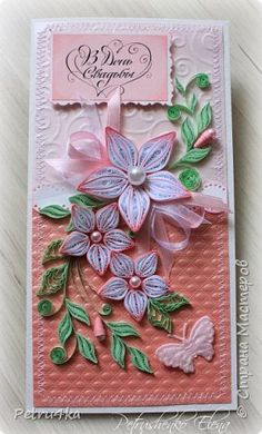 Paper Quilling Earrings, Paper Quilling Cards, Origami And Quilling, Quilling Craft, Quilling Flowers Tutorial, Quilling Patterns, Quilling Designs, Paper Art, Paper Crafts