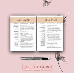 Teacher Resume Template, CV Template for MS Word, Professional Resume, Modern Resume Design, Resume Simple Resume Template, Teacher Resume Template, Resume Design Template, Creative Resume Templates, Cv Template, Design Resume, Cv Design, Cover Letter Design, Cover Letter For Resume