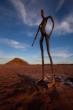 Lake Ballard Sculpture by Anthony Gormley. Photo credit: by Sally Wittenoom (salkiwi, via Flickr)