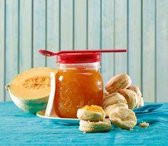 Mit duftendem Lavendel als fruchtige Konfitüre eingemacht, konserviert man sich die sommerliche Süsse der Melonen für den Winter.