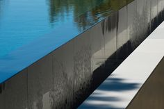 Edgeless pool. The Picornell House by john Pawson.