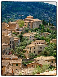 Deià, serra de Tramuntana. Mallorca...walk in the mountains here enjoyed the fresh bread.
