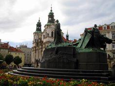 Plaza del Pueblo Viejo de Praga, República Checa, SEP 2006.