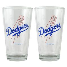 Boelter Pint Glass 2-Pack - Los Angeles Dodgers