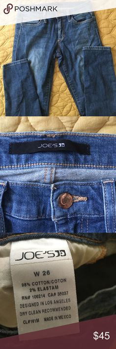 Joes jeans Size 26. Extremely soft and comfortable and has stretch. Skinny leg. Joe's Jeans Jeans Skinny