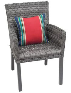 Sunbrella Toss Cushion   Walmart Canada Outdoor Chairs, Outdoor Furniture, Outdoor Decor, Cushions, Pillows, Tossed, Ottoman, Deck, Walmart