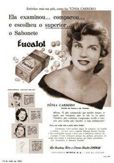 sabonete Eucalol- com Tonia Carreiro