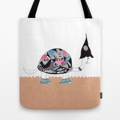molly - the tortoise Tote Bag by lf.o
