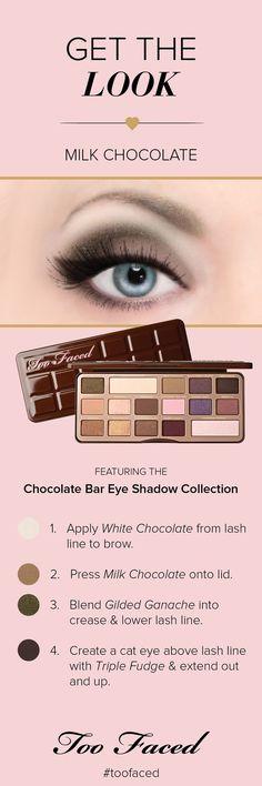 Paleta de sombras Too Faced Chocolate Bar Eye Shadow Palette na Sephora. Clique no link para comprar! <3