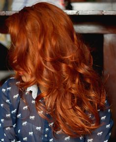 About My red | Girl Tips -- henna hair brilliant red