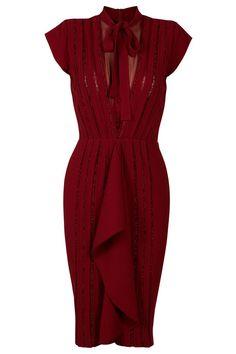 Lace Ribbon Dress