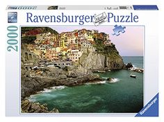 Ravensburger Cinque Terre Italy  2000 Piece Puzzle >>> Check this awesome product by going to the link at the image.