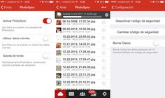 La aplicación de MEGA para iPhone ya permite la subida automática de fotos
