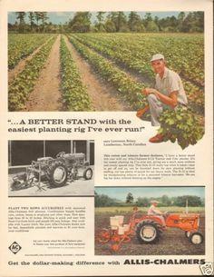 1961 Allis Chalmers AC D10 Farm Tractor Magazine Ad   eBay