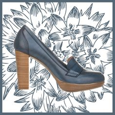 Moccasins Eva Lopez.  100% leather made in Spain