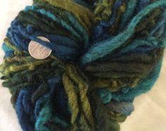 Melusine mohair wool yarn 120 yards self striping chunky bulky seaweed olive mermaid ocean lighthouse waves shawl rustic romantic stormy