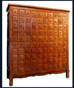 Chinese Medicine Cabinet With 100 Drawers; Costs Somewhere Around 15k USD  ;o) Splendid