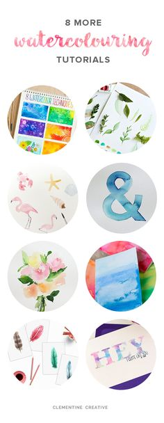 8 Free Watercolour Tutorials