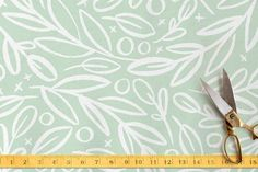 Branch Toss Fabric by Alethea and Ruth at minted.com