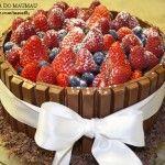 Receita do MauMau: Torta de KitKat