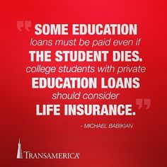 Have you ever felt like your financial debt will outlive you beyond the grave? #LifeInsurance #LifeInsuranceAwareness #StudentLoans conniebarker.wfgopportunity.com