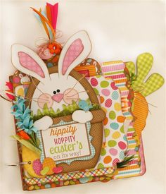 Hippity Hoppity Easter Album by Paisleys and Polka Dots. Makes me want to eat peeps, robin eggs, and jelly beans! #easterparade #doodlebugdesign