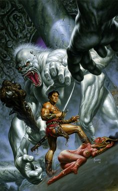 John Carter and the White Apes of Mars