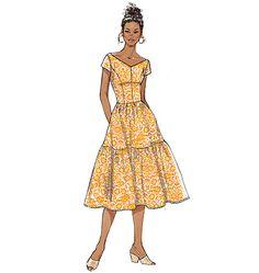 B6203, Misses' Dress